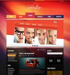 Web design PSD  Template 50038