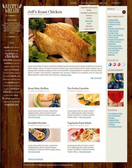 ADOBE Photoshop Template 50047 Home Page Screenshot