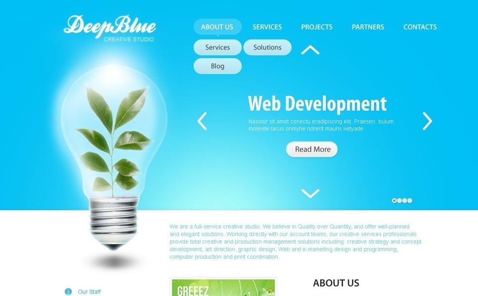 Web Tasarımı  Psd Şablon New Screenshots BIG