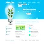 Web design PSD  Template 50060