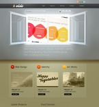 Web design PSD  Template 50065