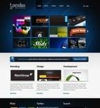 Web design PSD  Template 50072