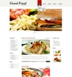 Food & Drink PSD  Template 50076