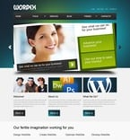 Web design PSD  Template 50077