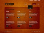 Web design PSD  Template 50078