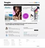 Web design PSD  Template 50080