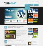Web design PSD  Template 50082