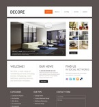 Furniture PSD  Template 50083