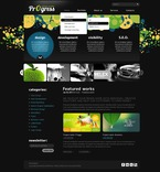 Web design PSD  Template 50084