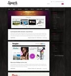 Web design PSD  Template 50086