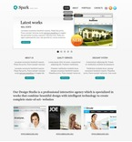 Web design PSD  Template 50088