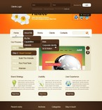 Web design PSD  Template 50093