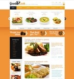 Food & Drink PSD  Template 50095