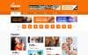 Responsive TV kanalı  Web Sitesi Şablonu New Screenshots BIG