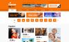 Responsive Website template over Tv-zender New Screenshots BIG