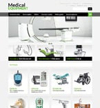 Medical Magento Template 50100