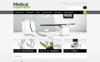 Medical Equipment Magento Theme
