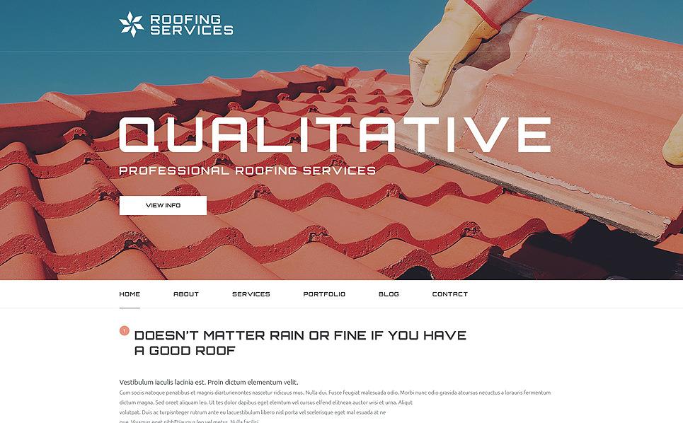Responzivní WordPress motiv na téma Rekonstrukční služby New Screenshots BIG
