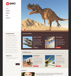 Society and Culture WordPress Template 50120