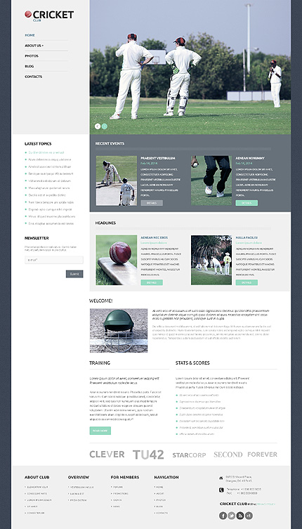 WordPress Theme/Template 50121 Main Page Screenshot