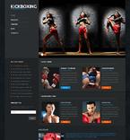 Sport WordPress Template 50122