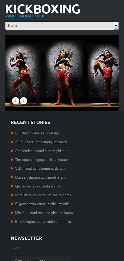 WordPress Theme/Template 50122 Main Page Screenshot