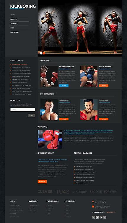 Website Template #50122