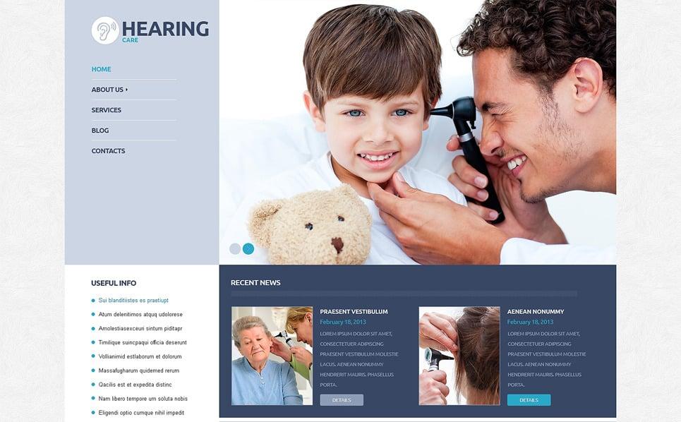 Responsive WordPress thema over Medische New Screenshots BIG
