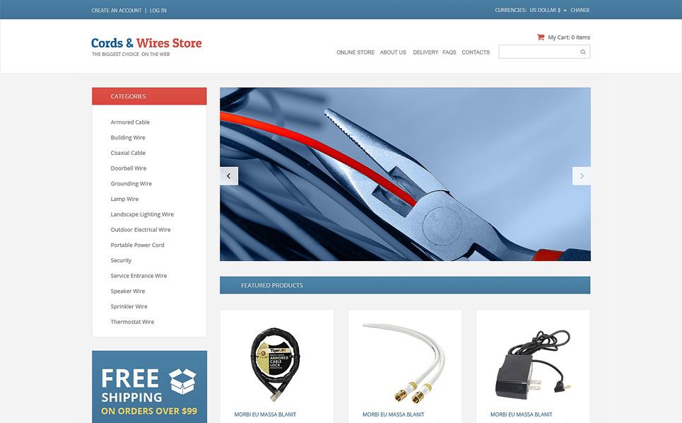 Szablon VirtueMart #50129 na temat: sklep elektroniczny New Screenshots BIG