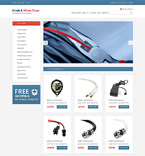 Electronics VirtueMart  Template 50129
