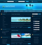 Travel PSD  Template 50131