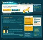 Software PSD  Template 50136