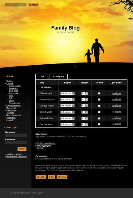 PSD макет сайта №50143