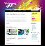 Web design PSD  Template 50146