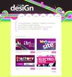 Web design PSD  Template 50156