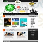 Web design PSD  Template 50159