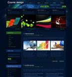 Web design PSD  Template 50163