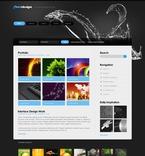 Web design PSD  Template 50168
