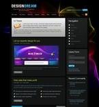 Web design PSD  Template 50175