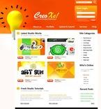 Web design PSD  Template 50183