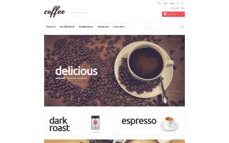Coffee Maniacs PrestaShop Theme