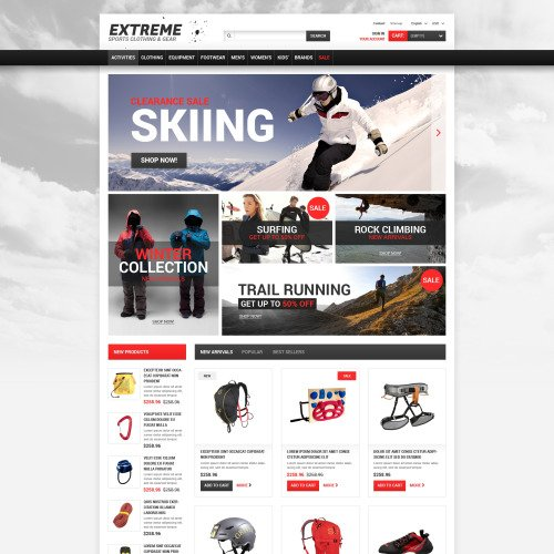 Extreme  - PrestaShop Template based on Bootstrap