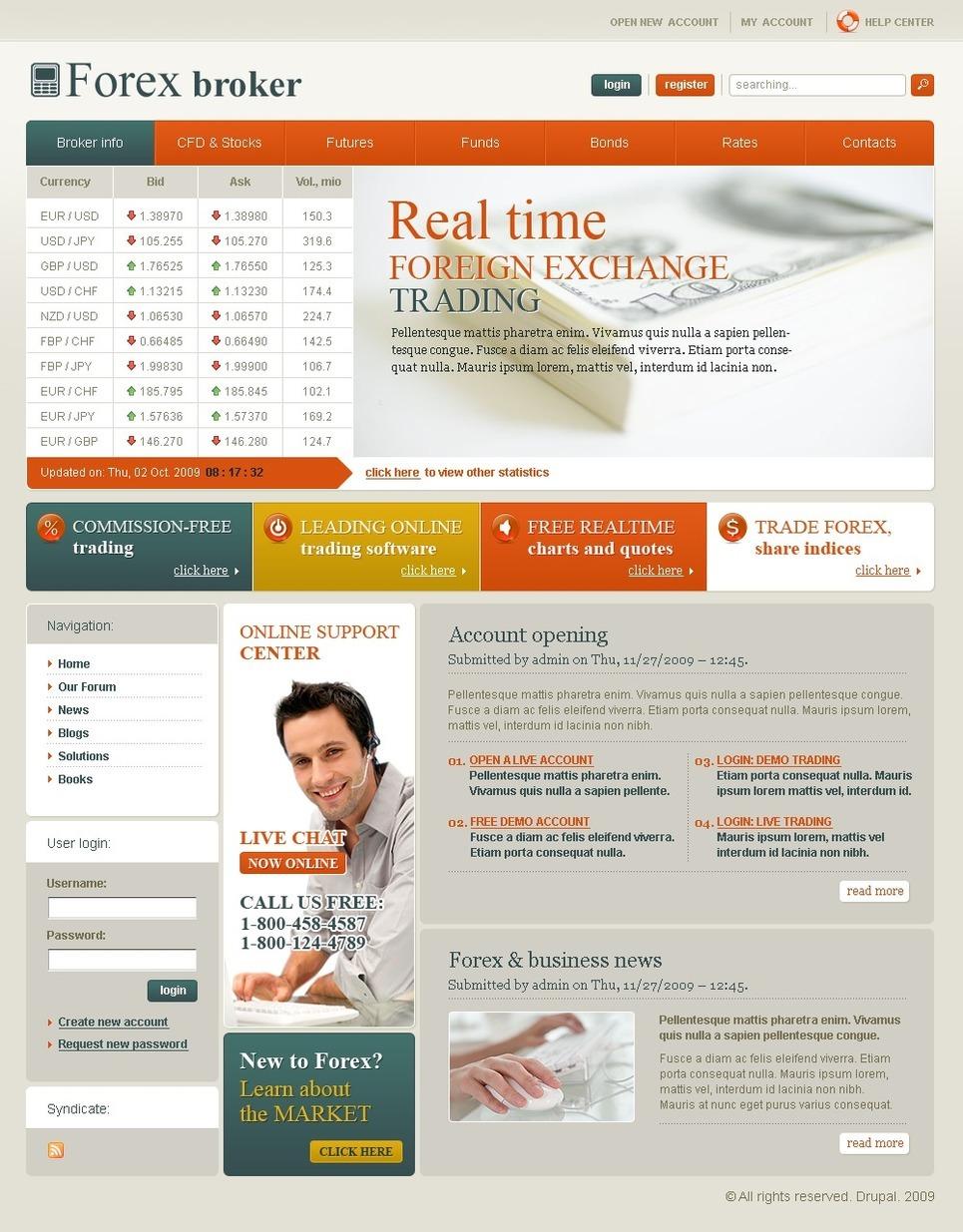 Investment Company PSD Template New Screenshots BIG