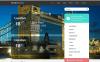 Modello WordPress Responsive #50114 per Un Sito di Tempo New Screenshots BIG