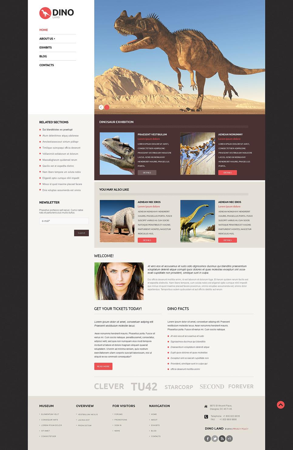 Sculpture Responsive WordPress Theme New Screenshots BIG