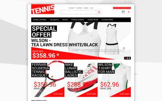 Tennis Dress Supplies Magento Theme