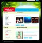 Web design PSD  Template 50200