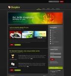 Web design PSD  Template 50201