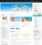 Charity PSD  Template 50204