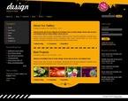 Web design PSD  Template 50216